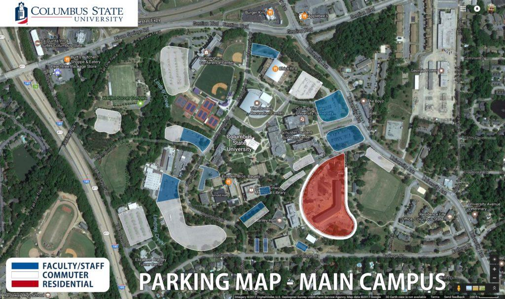 Student Parking Is Now Faculty Parking