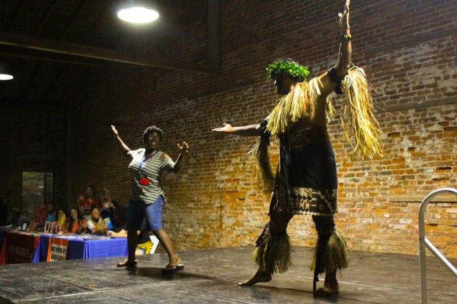 The luau commences. Photos courtesy of Lyndsey Gardner.