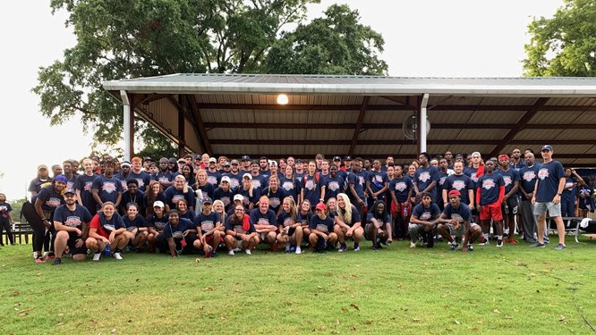 CSU Athletics participate in Day of Service. Photo courtesy of CSU Athletics.