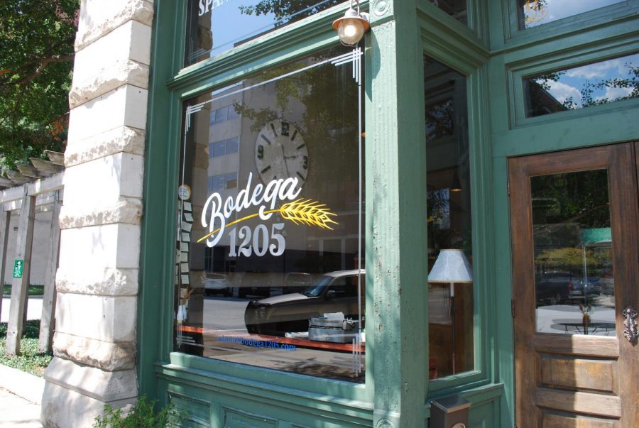 The storefront of Bodega 1205. Photo courtesy of Vivian Duncan.