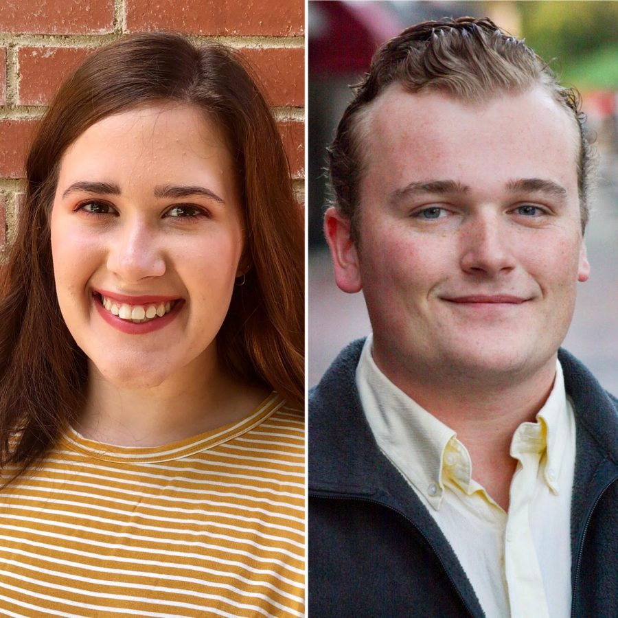Sarah Slappey (left) and Seth Wicker (right) coordinated the Georgia Thespian Convention events. Photos provided.