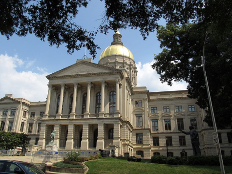 The Georgia State Capitol in Atlanta, Georgia, photo by Ken Lund licensed under Creative Commons.