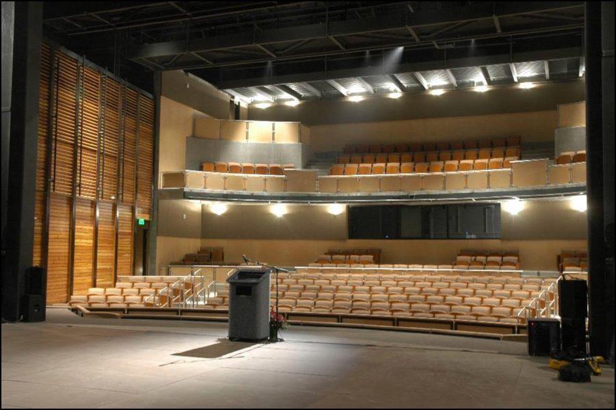 CSU Riverside Theatre stage. Photo courtesy of CSU Theatre.