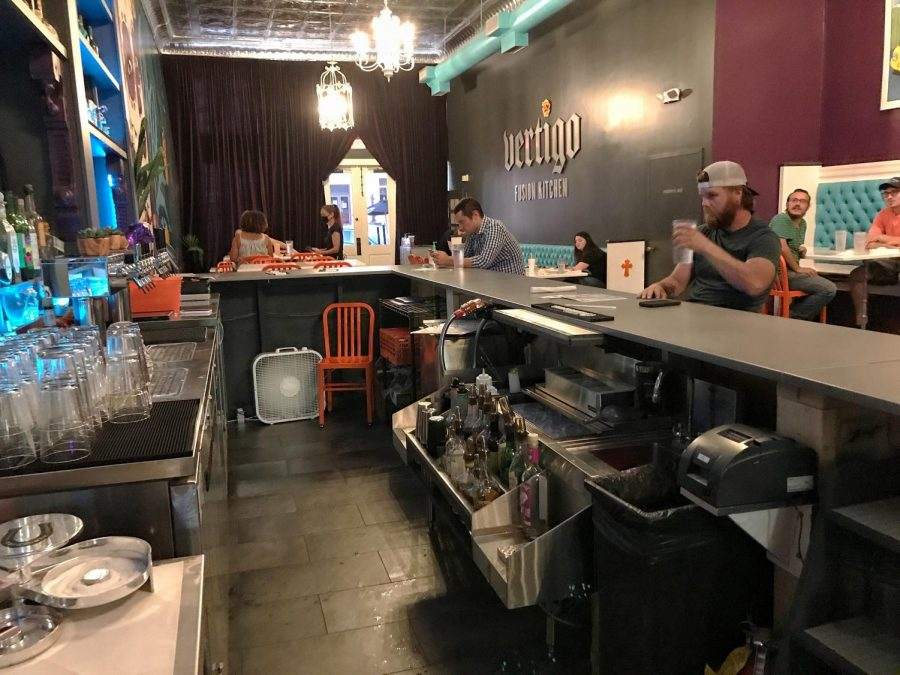 Vertigo Fusion Kitchen is owned by Denise Stickney.