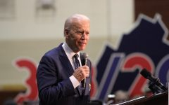 President Joe Biden speaks at a rally in Virginia. Photo courtesy of NSPA & ACP.