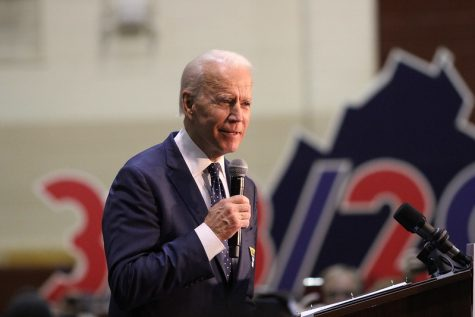 President Joe Biden speaks at a rally in Virginia. Photo courtesy of NSPA & ACP.