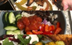 A variety of homemade plant-based meals