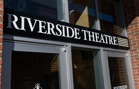 Exterior of Riverside Theatre Complex.