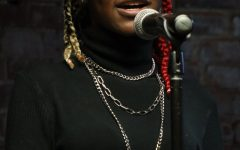 Students participated in Open Mic Night organized by the Creative Cougar Coalition